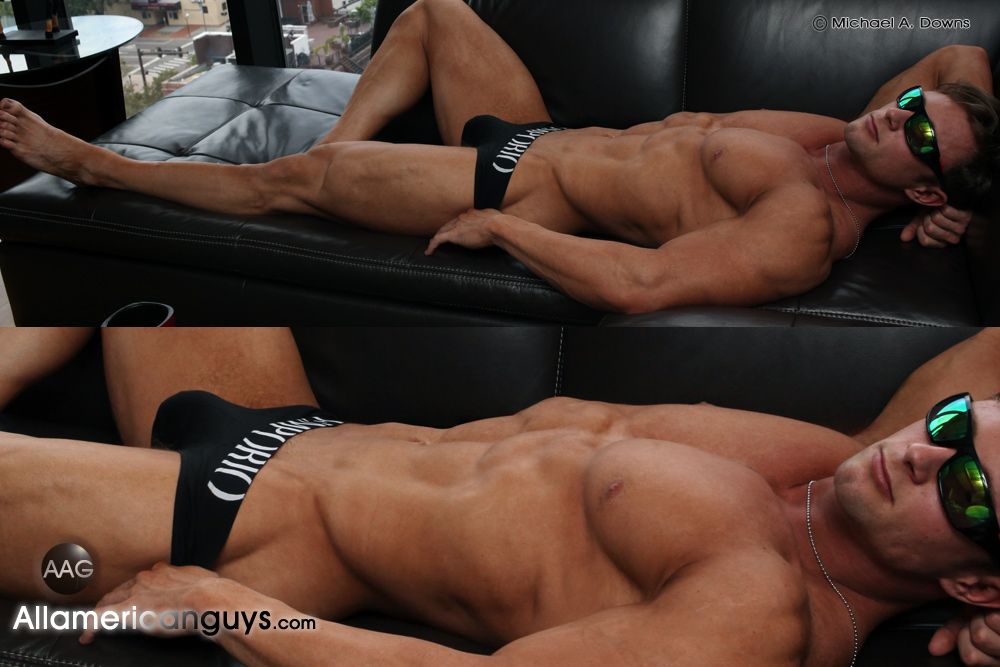 Muscle Guy Justin B.