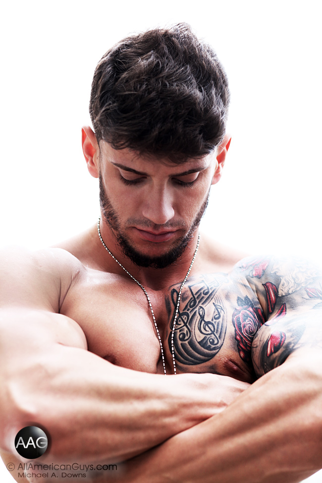 Nick C adds more muscle every day!