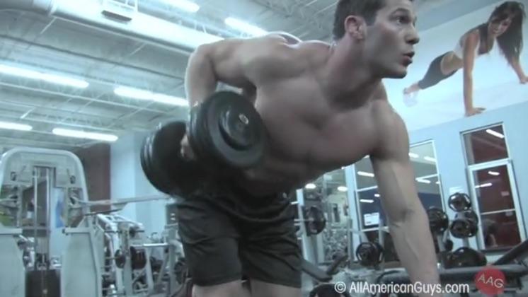 Josh Ohl, Back workout