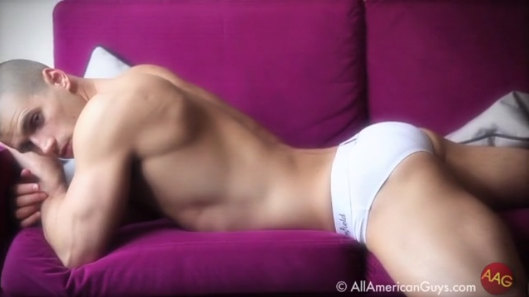 Todd Sanfield Sporting His Own Underwear Label, Part 1