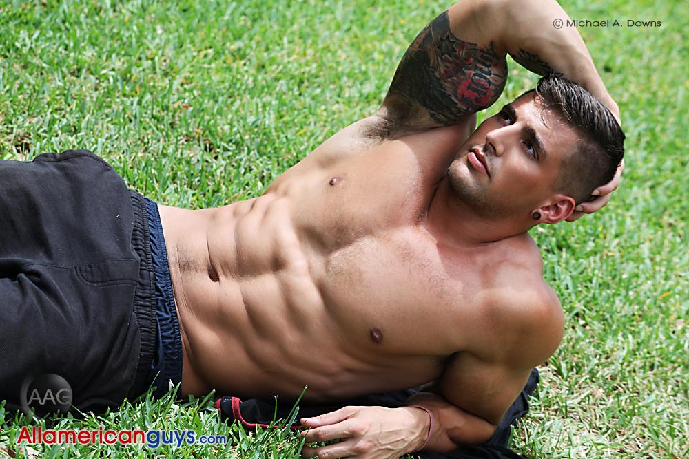 Gymnast, Model & Certified Gym Junkie, Tyler Anthony