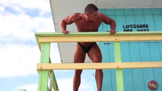 Bodybuilder Kyle Wheeler, Part 1