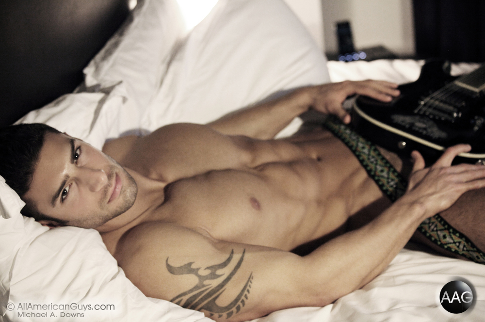 Guitar in Bed with Adam A.  and the Drinking Dilemma