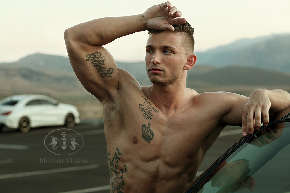 Tatted Built Hunk, Nate L. Don't Avoid, Overcome it!