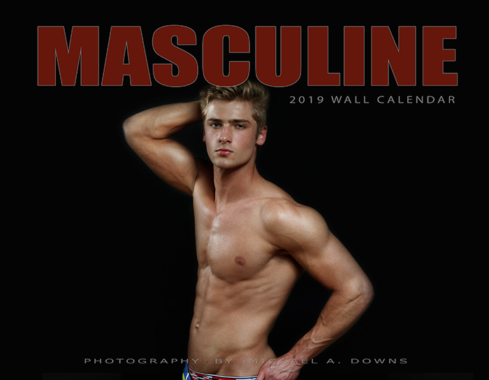 Masculine Calendar Now Available for Sale