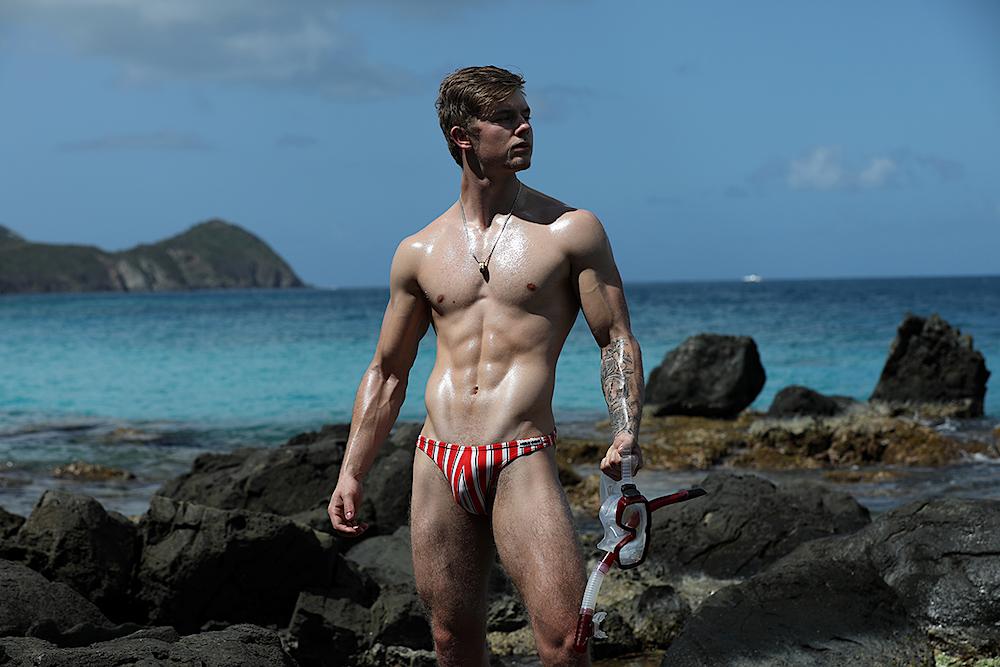 Dylan Looks Great Snorkeling