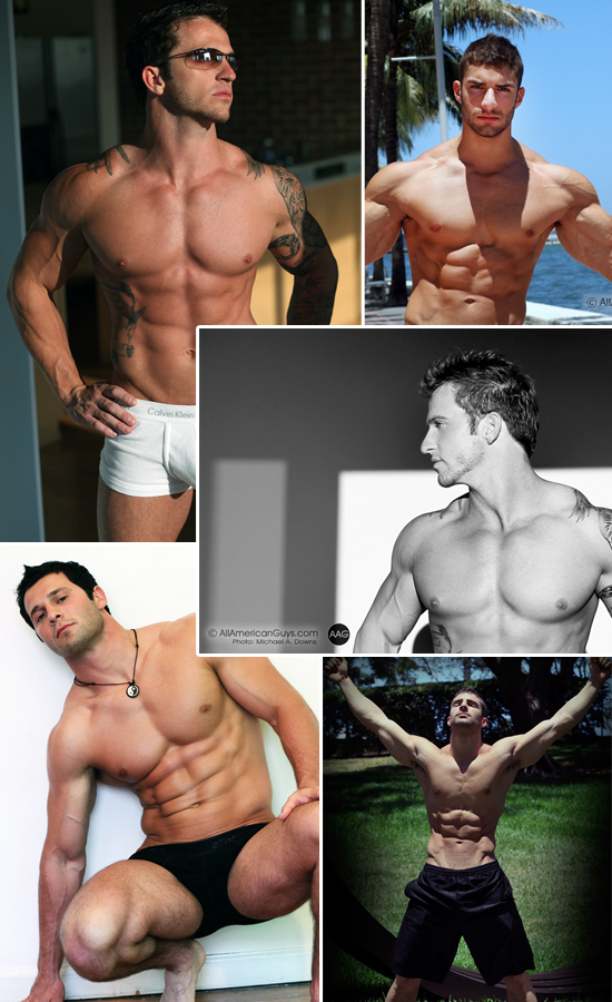 Picture About AAG Male Models Josh, Adam, Chase, Courtney, Aaron Klein along, Josh, Gary and Adam A
