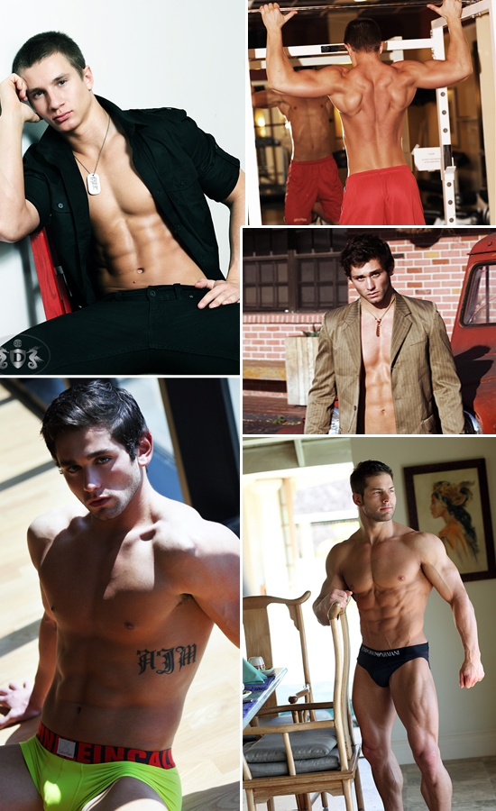 Picture About Male Model Jason T. Fitness Model Prospect Kevin,  Anthony M., Markus and Gary's Beach ShootFitness